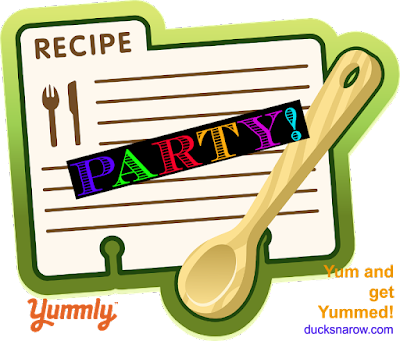 recipe sharing party, linkup, blog party, blog hop