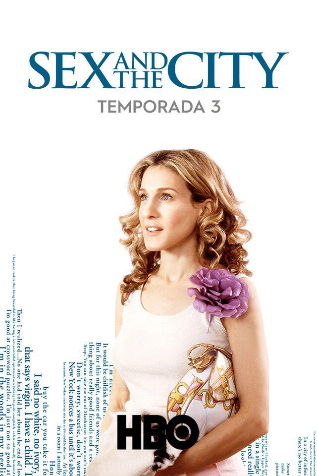 Sex and the City (2000) Tercera Temporada [Remastered] HBO WEB-DL 1080p Latino