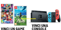 Logo Concorso ''Vita da Comix 2020'': vinci gratis 90 videogame e 13 console Nintendo Switch
