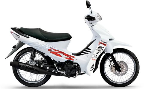 Suzuki BEST 125: Blanca