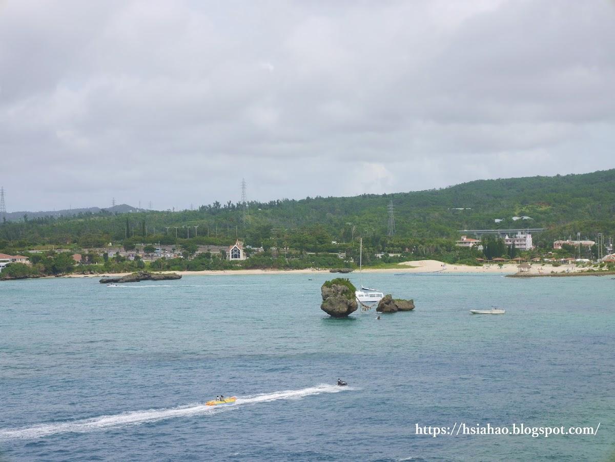 沖繩-景點-中部-萬座毛-萬座海灘-自由行-旅遊-Okinawa-Manzamo-beach