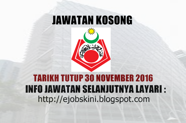 Jawatan Kosong MAIWP Healthcare Sdn Bhd November 2016