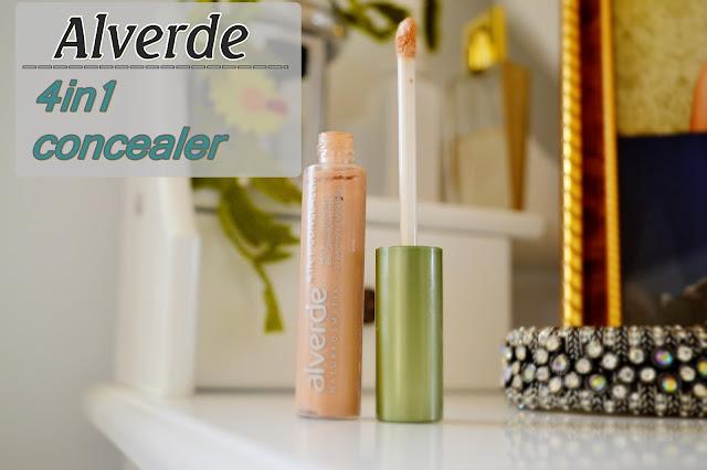 Alverde, 4in1 concealer, nr 10 natural - czyli jak znaleźć inne zastosowanie dla bubla!