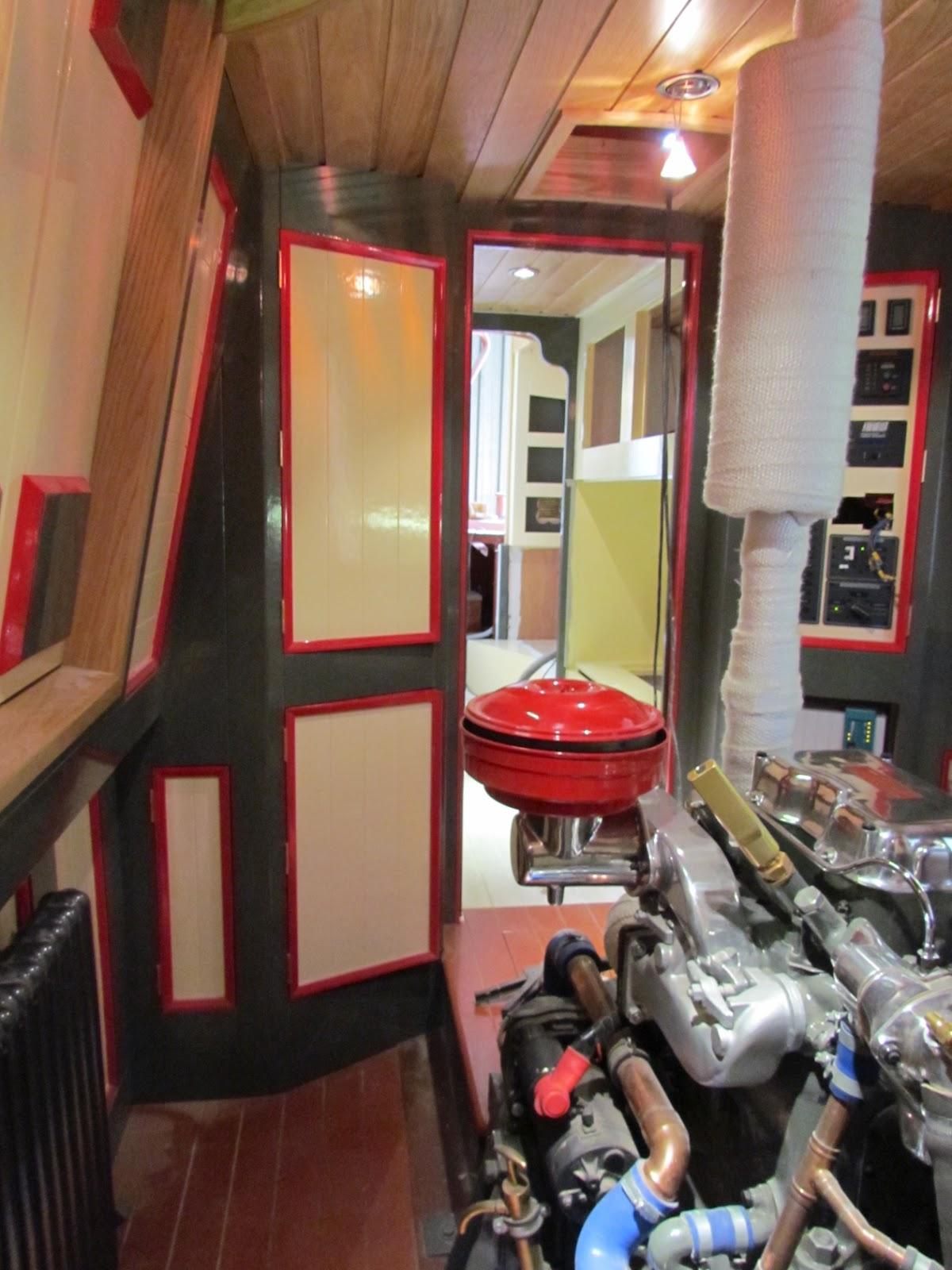 Boat Engine Room