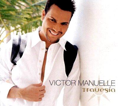 Foto de Víctor Manuelle en portada de disco