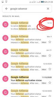 AdSense appfoval