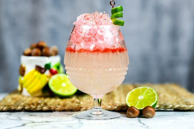 Nut in the Caribbean Cocktail