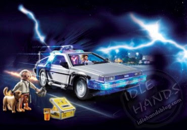 UK Toy Fair 2020 PLAYMOBIL UK LTD  Playmobil Back to the Future DeLorean