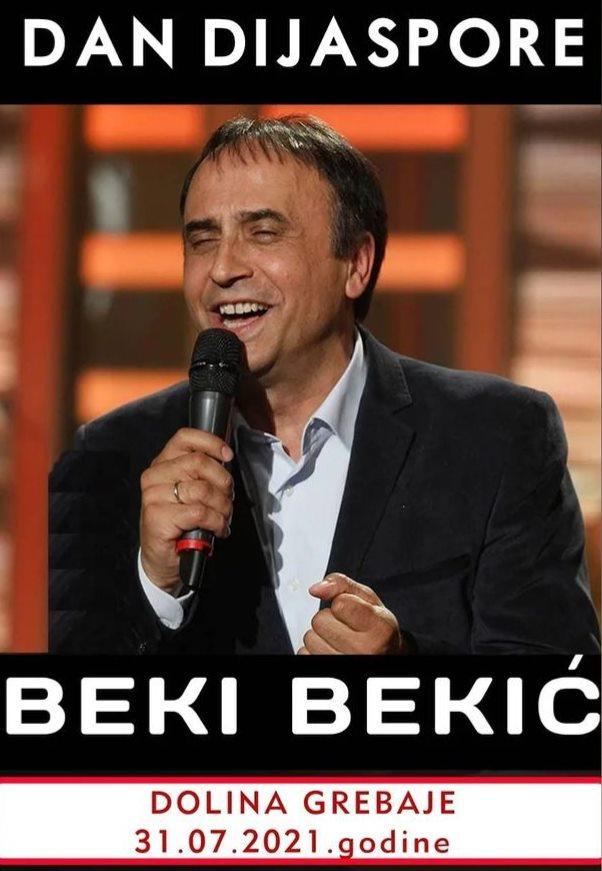 Beki Bekić pjeva za Dan dijaspore u Grebajama