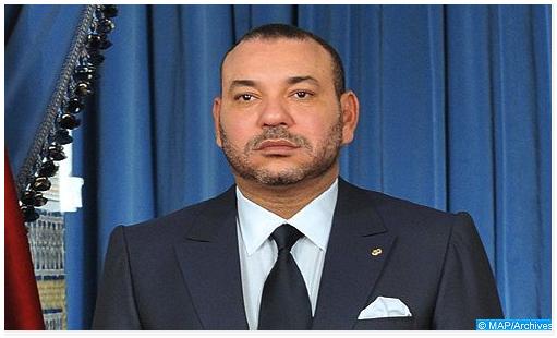 برقية تعزية ومواساة من جلالة الملك إلى أفراد أسرة المرحوم الفنان عبد العزيز سعد الله