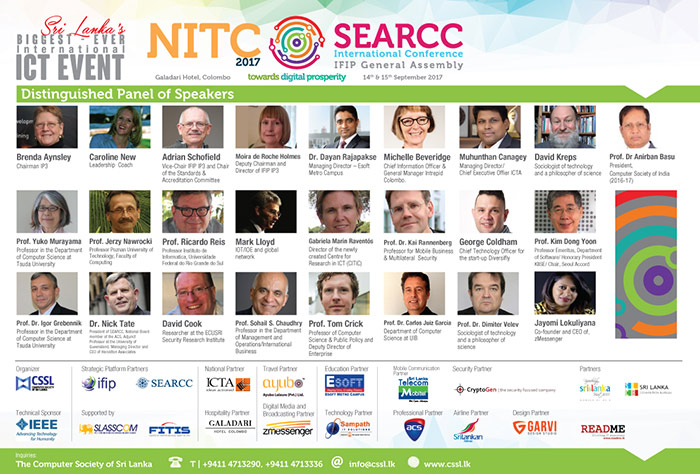CSSL | NITC 17 - 35th National IT Conference