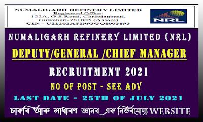 NRL Manager Recruitment 2021
