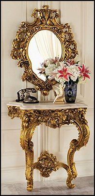 Princess bedroom Furniture  Luxury bedroom designs - Marie Antoinette Style theme decorating ideas - French provincial furniture baroque style - Louis XVI furniture - Rococo furniture - baroque furniture
