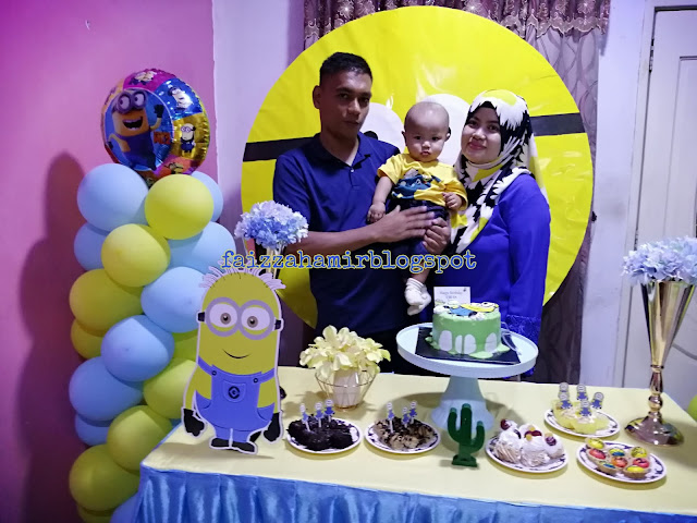Happy Birthday Firas Faiq!! ~ Firas Turns 1