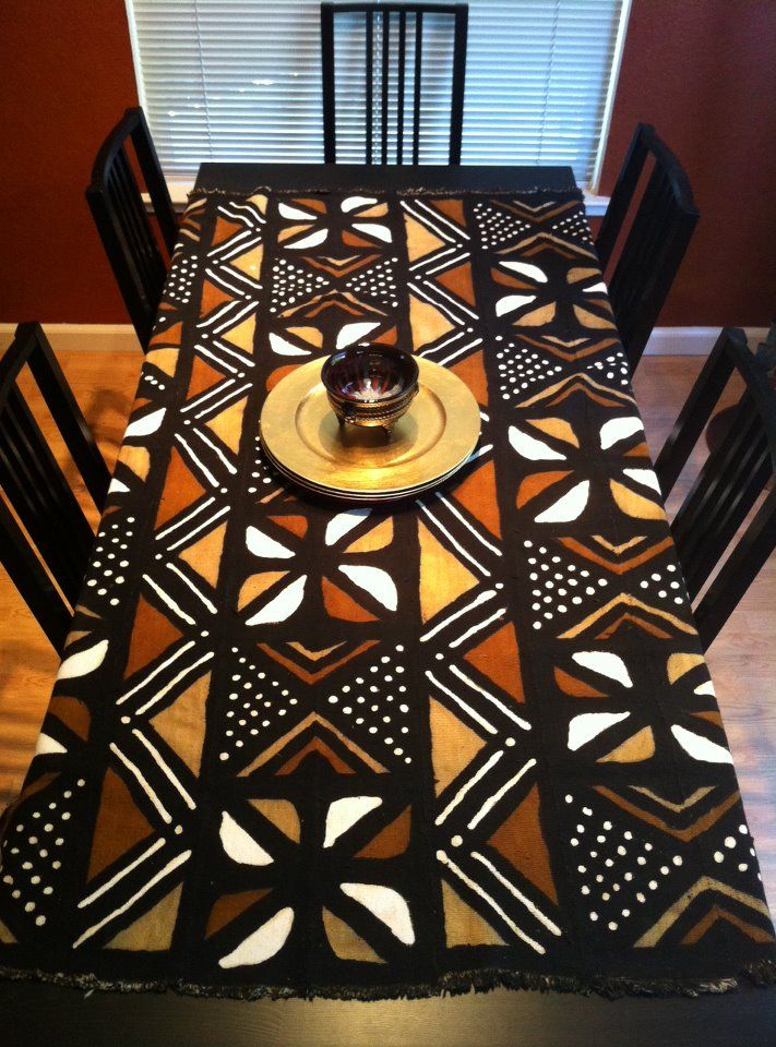 African Print Table Runner Sevenstonesinc