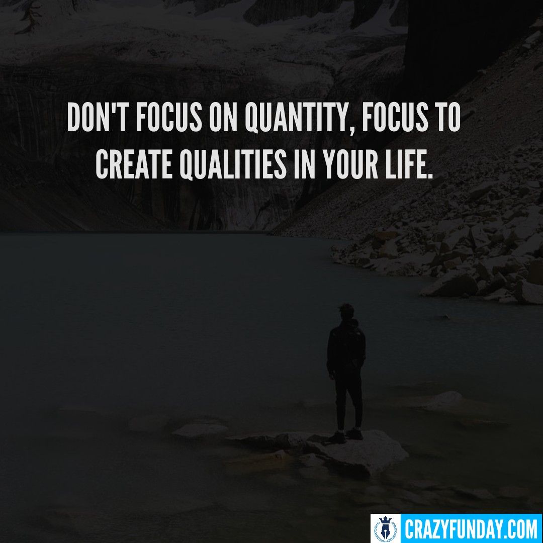 Focus Yourself Quotes