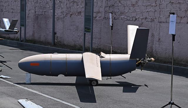 الطائرة دون طيار Elbit Hermes-200 ؟؟  Azerbaijan - suicide drone Loitering munition UAV