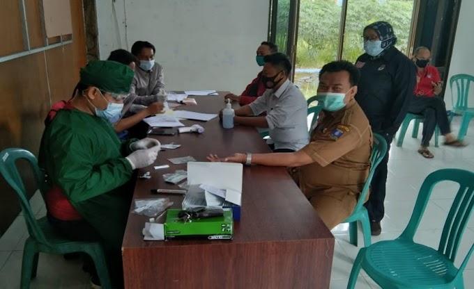 Pasca Pilkada 2020, KPU Kabupaten Serang Gelar Rapid Test Serentak PPS dan PPK