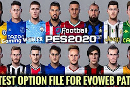 New Option File For EvoWeb Patch V8 - PES 2020