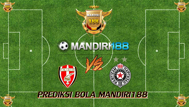 AGEN BOLA - Prediksi Skenderbeu Korce vs Partizan Belgrade 20 Oktober 2017