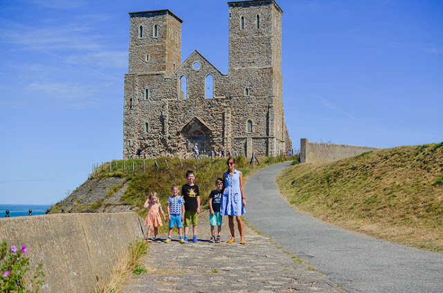 Reculver ruins, reculver castle, days out in Kent, days out with kids in kent