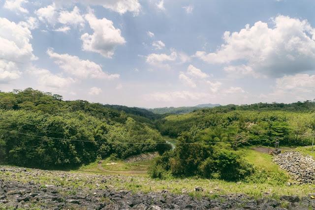 Keindahan Bendungan Lahor perbatasan Malang Blitar