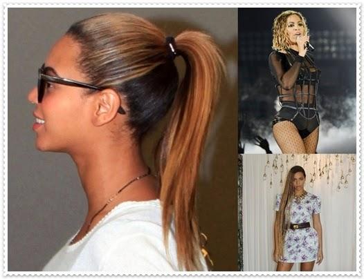 Beyoncé Haare 2014