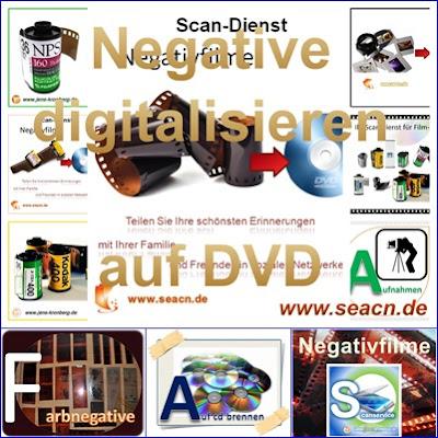 Präsentation Scanservice für Kunden aus Deutschland
