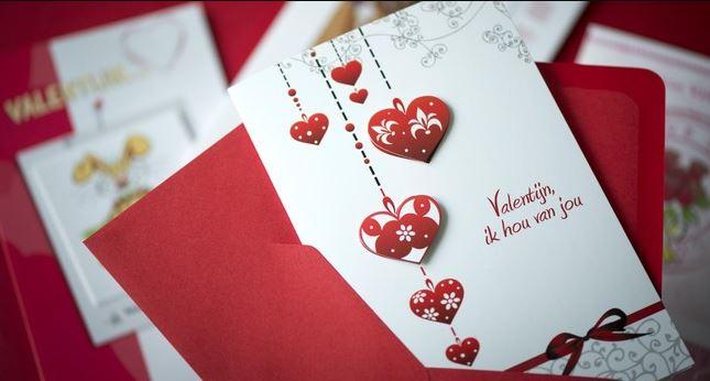 Valentijnskaart Valentijnscadeau voor hem haar