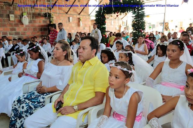 Gob-NdeS William Villamizar y Gestora Social Cecilia Soler gestionan 20 mil regalos para los niños #RSY #OngCF