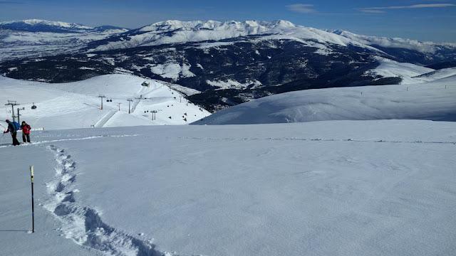 Descenso raquetas de nieve
