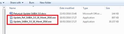 file update saiba 3.0