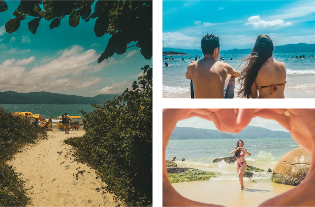 Praia da Daniela - Florianópolis / SC