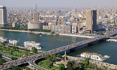 Figure: Name this ancient and great metropolis on the banks of the river Nile