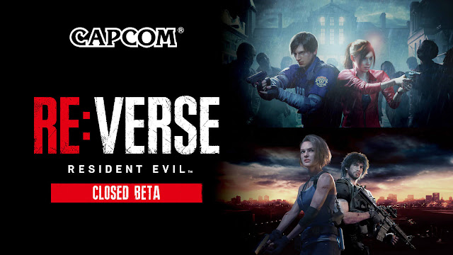 resident evil re: verse game closed beta ada wong chris claire redfield hunk jill valentine leon kennedy survival horror ps4 ps5 playstation xbox series x capcom