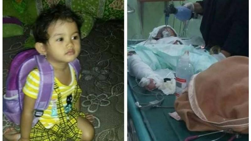 Intan Olivia Marbun, korban bom gereja di Samarinda meninggal