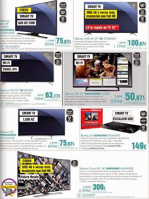 ofertas de televisores el corte ingles 11-2014