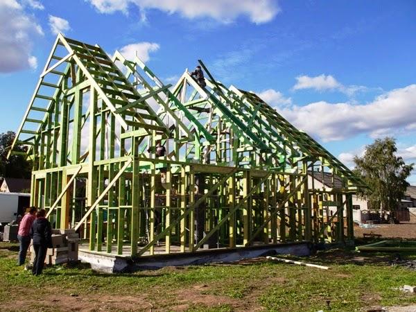 dom drewniany szkieletowy tańszy niż murowany