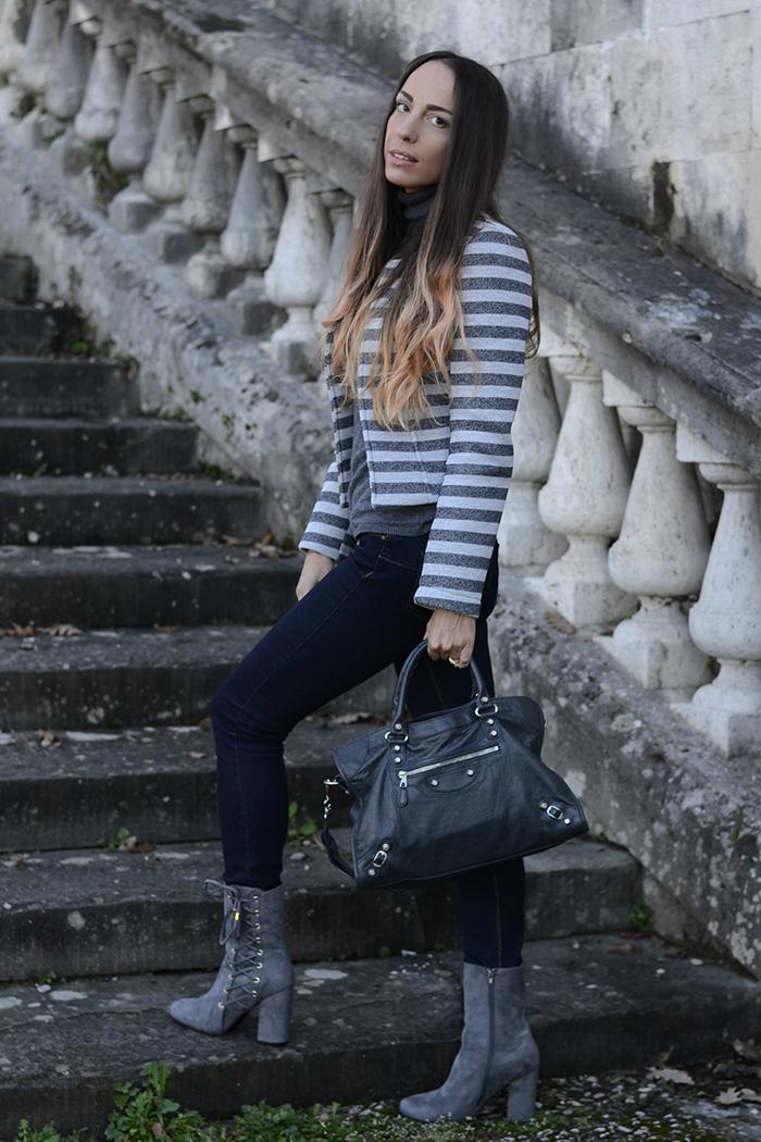 indossare il grigio