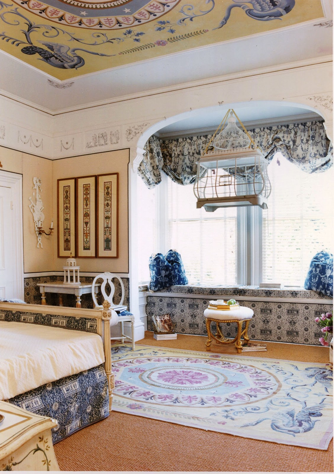 Gail green interiors tricks of the trade ceilings for To the trade only interior design