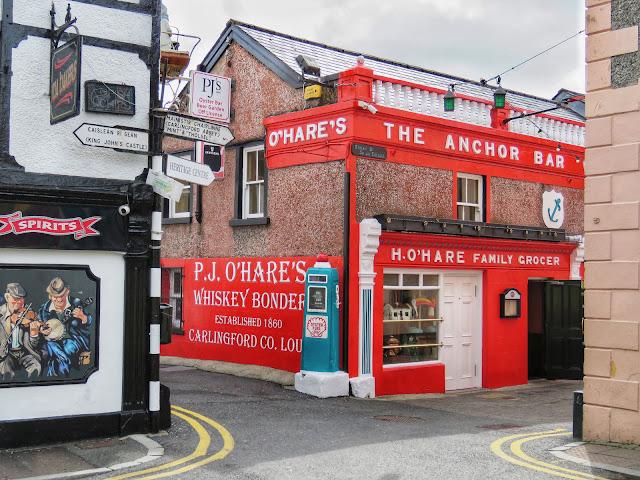 P.J. O'Hares The Anchor Bar in Carlingford Town Ireland