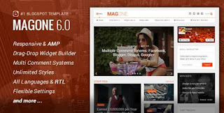 Magone 6.0 Blogger Template Free Download