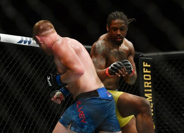 Ryan Spann battle Sam Alvey UFC 249