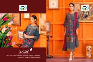 R9 Designer Sanoor Georgette pakistani Suits wholesale