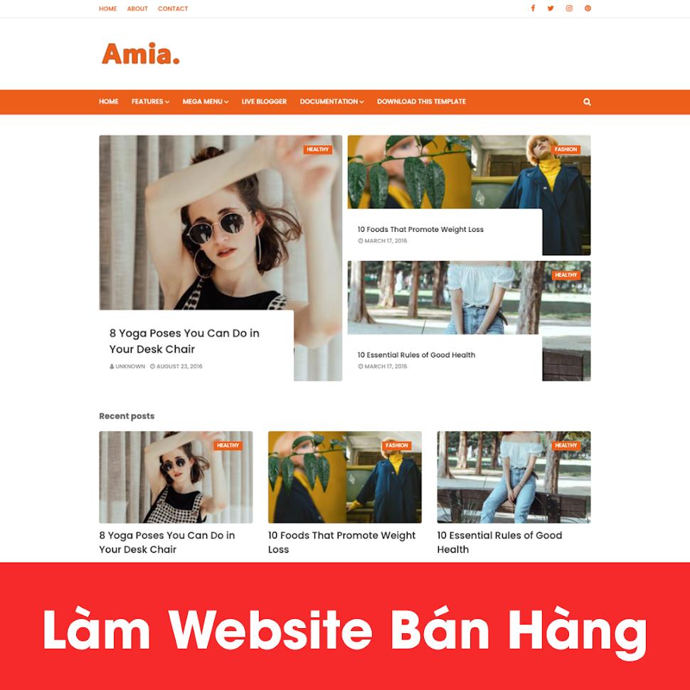 [A121] Lựa chọn thiết kế website mỹ phẩm thiên nhiên ở đâu uy tín nhất