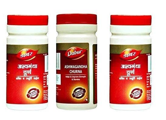 DABUR Ashwagandha Churna (100 g) - Pack of 3