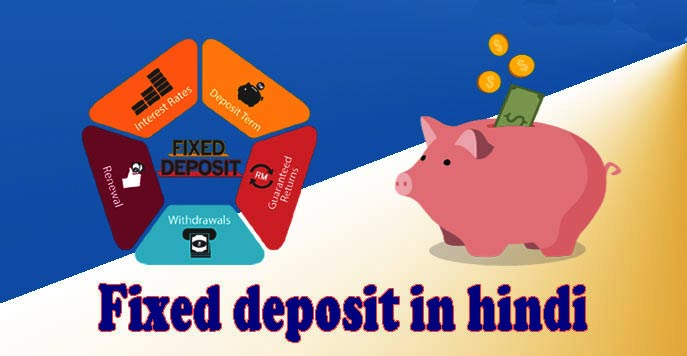 Fixed deposit क्या है? (Types of fixed deposit in Hindi)