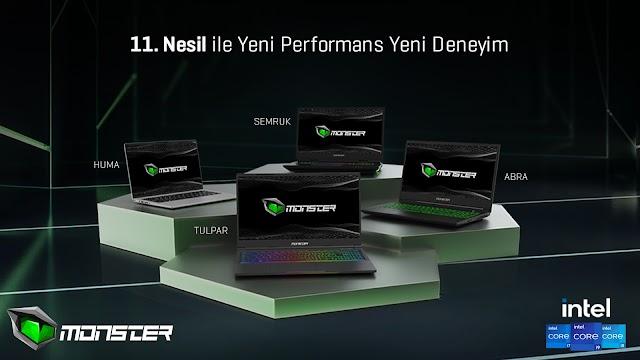 Monster Notebook'un heyecanla beklenen yeni ürünleri satışa çıktı