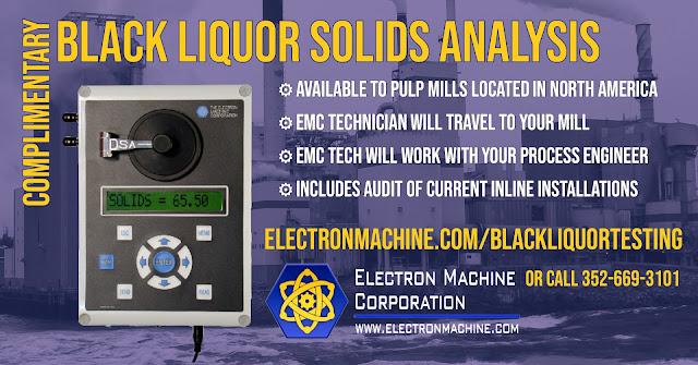 Black Liquor Solids Analysis