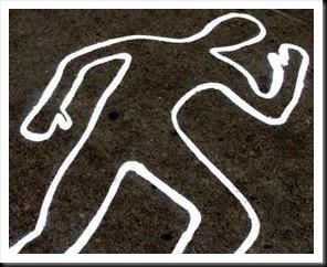 Cadáver de indigente en Vía Pública